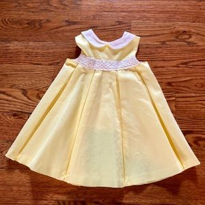 Janie and Jack Yellow Special Occasion Dress